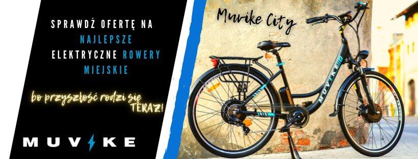 rowery elektryczne miejskie